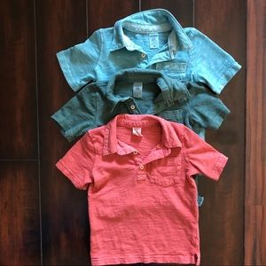 Set of 3 Toddler Polo Shirts (24M)